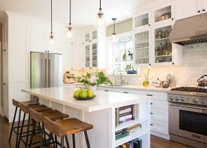 Entertaining kitchen chosen for 2017 Rockridge Kitchen Tour.
