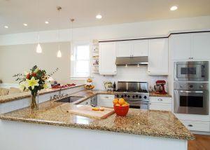 Colonial-style San Rafael home kitchen remodel.