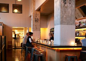 Upscale Serpentine Restaurant remodel in San Francisco