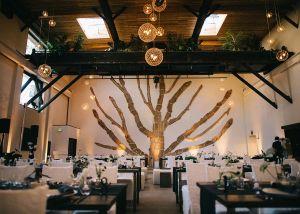 Industrial, multi-level San Francisco restaurant renovation in the Dogpatch neighborhood.
